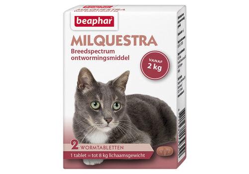 Beaphar Beaphar | Milquestra kat | 2 tab | tot 8 kg