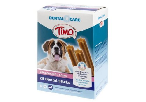 Timo Timo | Dental care sticks m-p large | dental | 28 stuks | Large