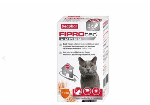 Beaphar Beaphar | Fiprotec combo cat >1kg | 3 pip | >1kg