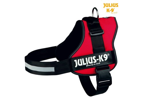 Julius-K9 Powerharness Rood