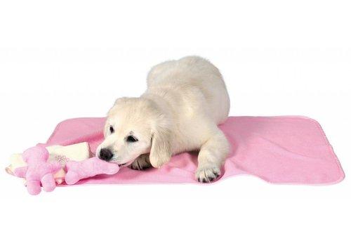 Puppyset met deken, speelgoed en handdoek Roze