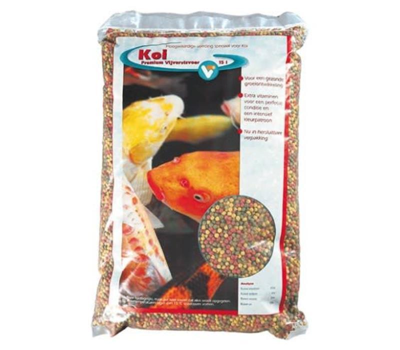 KC Vijver Koi pellets premium 15 liter