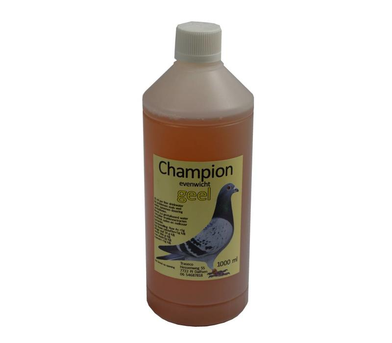 Champion geel 1000 ML. - Traseco