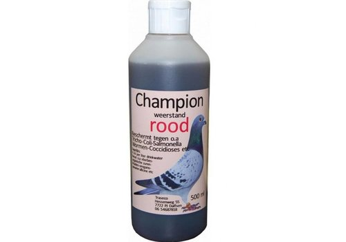 Traseco Champion rood 500 ML - Traseco