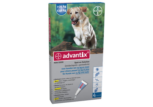Advantix Advantix | Spot on 400 | 4,0 ml | 4 pip | 25 - 40 kg