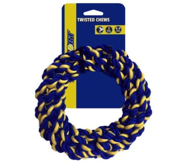 Braided Cotton Rope Ring Medium 17,5cm