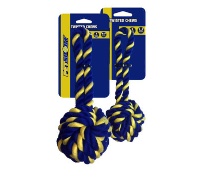 Braided Cotton Rope Monkey Fist Small