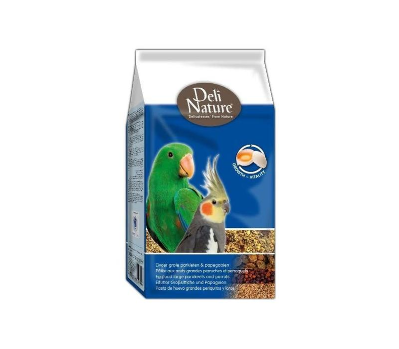 Deli Nature eivoer grote parkieten/papegaai