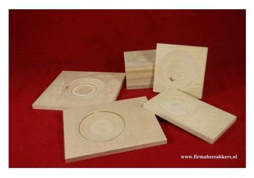 Heesakkers Broedblok bodem 25/25 cm