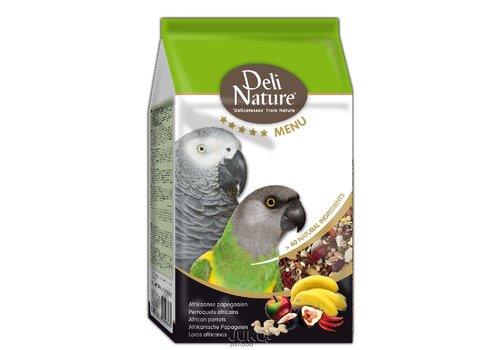 Deli Nature Deli Nature 5* menu afrikaanse papegaai