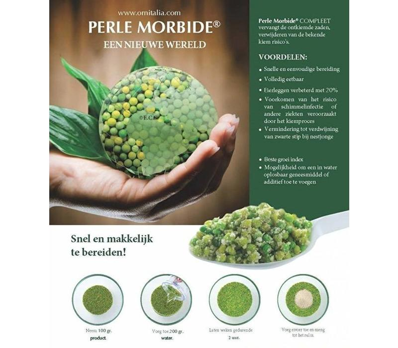 Perle morbide (vervangt kiemzaad, mengen in het eivoer)