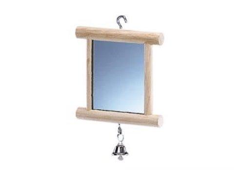 Nobby Holzspiegel mit Glocke