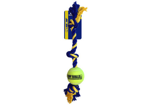 Pet Sport Giant 3-Knot Cotton Rope with Tuff Ball (10cm)