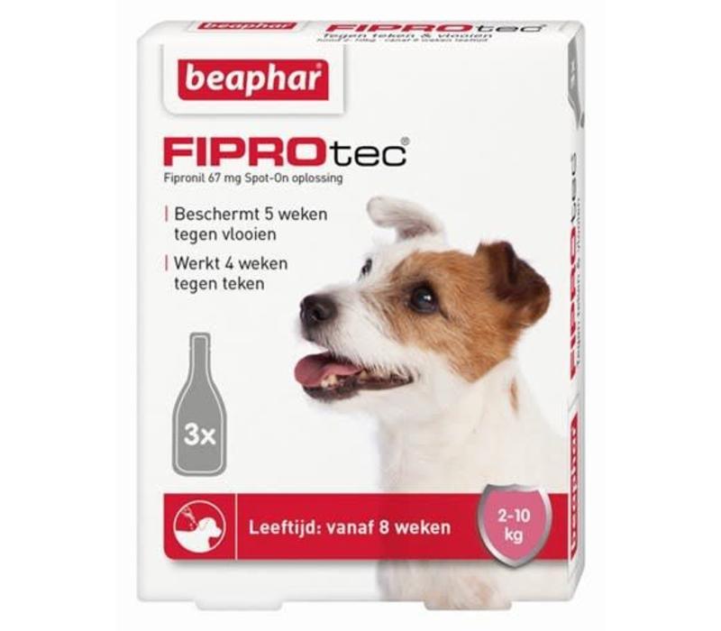 Beaphar | Fiprotec dog  2-10kg | 3 pip | 2-10kg