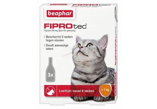 Beaphar Beaphar | Fiprotec cat  >2kg | 3 pip | van 2 maanden