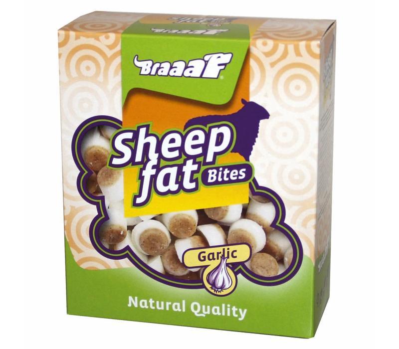 Sheep fat Bites with Garlic