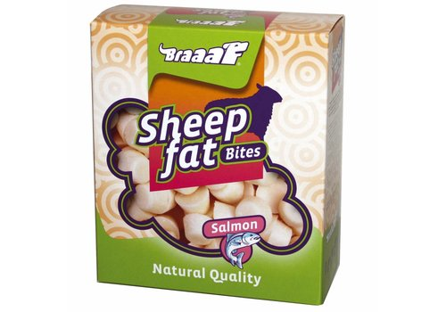 Braaaf Sheep fat Bites with Salmon