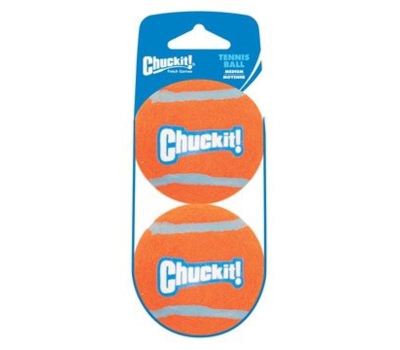 Chuckit Tennis Ball Medium 2-Pack