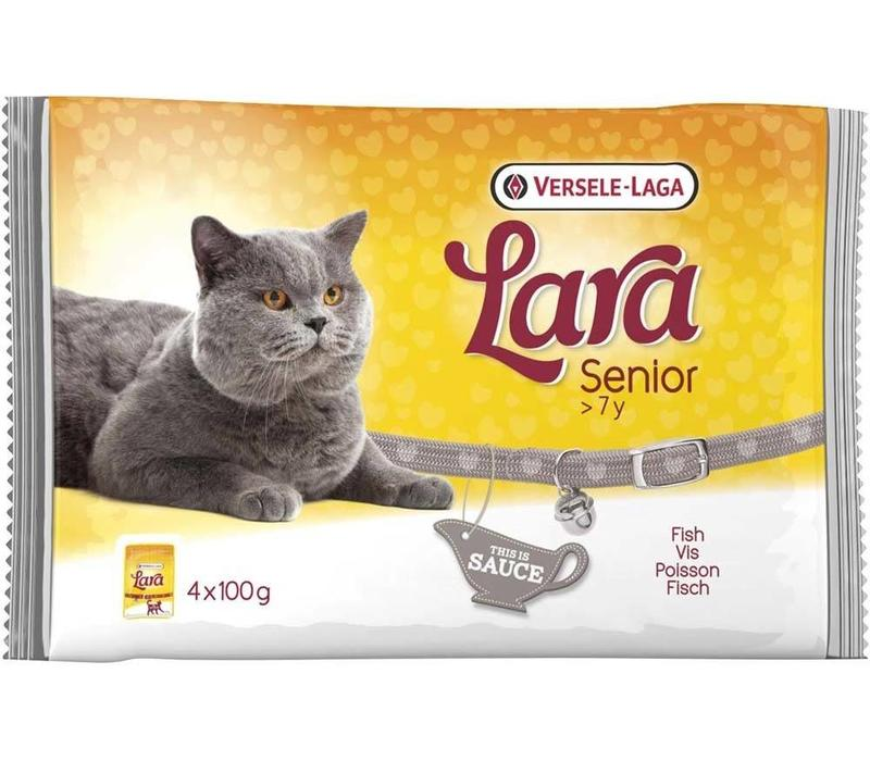 Lara | Senior vis - saus | 4x100 g | Gelei | in saus