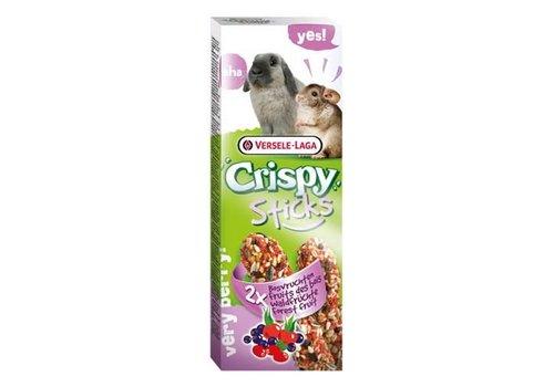 Versele-Laga Versele-Laga Crispy | Sticks konijn bosvruchten | 2x70 g | Fruit