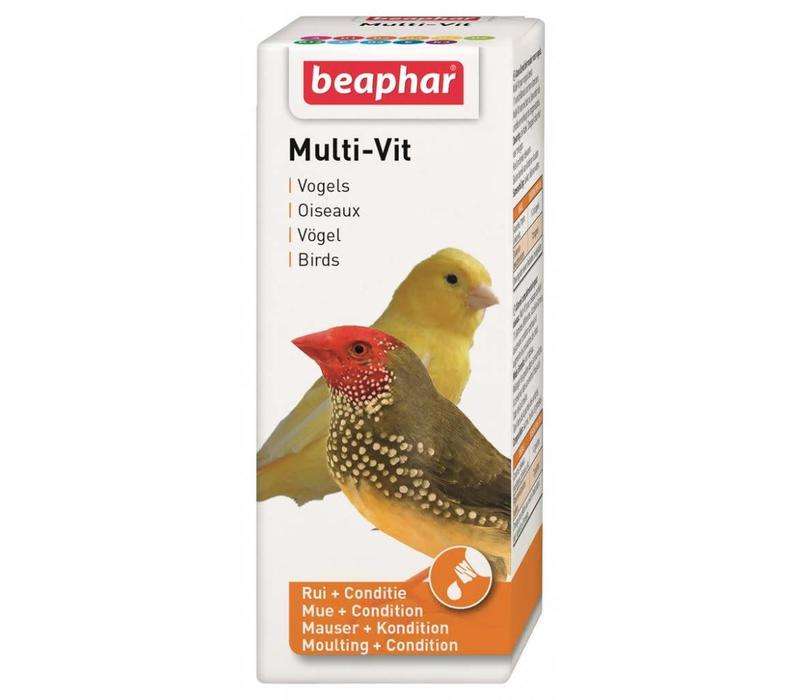 Beaphar | Multi-Vitamine vogels | 50 ml