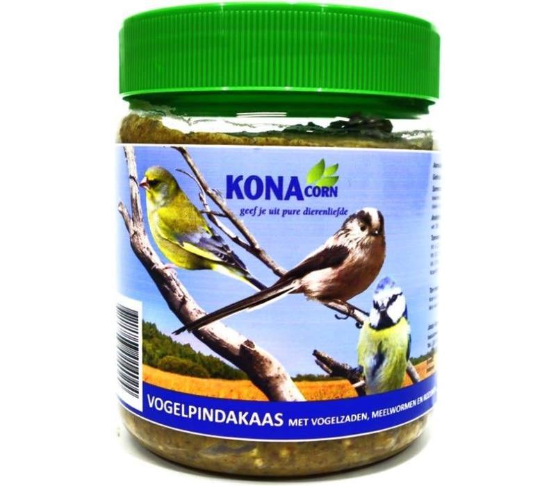 KC Vogelpindakaas met meelwormen 550 gr