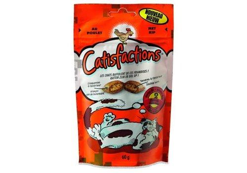 Catisfactions Catisfactions | Kattensnoepjes kip | 60 g | kip