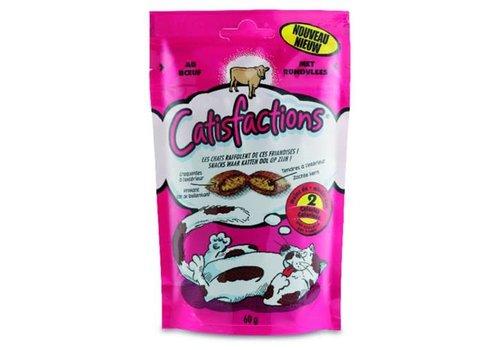 Catisfactions Catisfactions | Kattensnoepjes rund | 60 g | rund