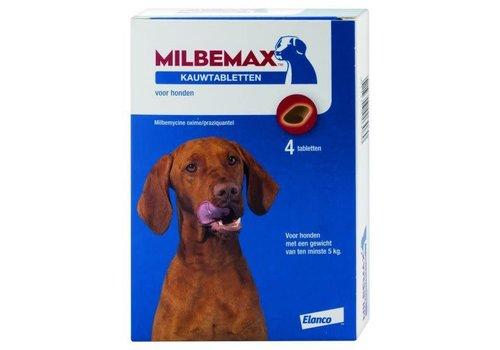 Milbemax Milbemax Hond Groot Chewy 4 tabl. 5-75kg