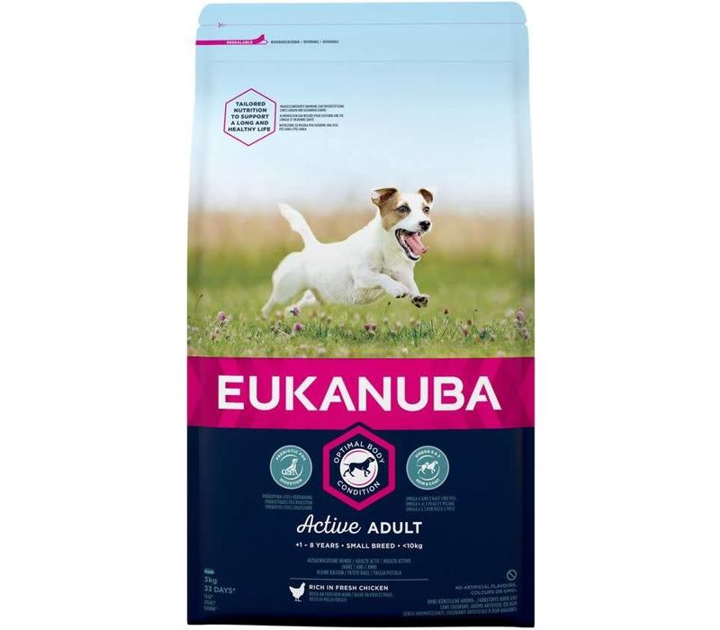 Eukanuba Dog Active Adult Small Breed
