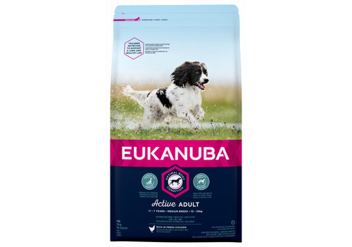 Eukanuba Eukanuba Dog Active Adult Medium Breed