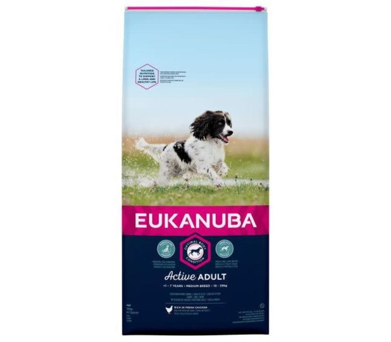 Eukanuba Dog Active Adult Medium Breed