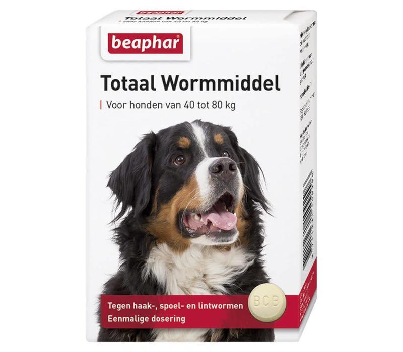 Beaphar | Wormmiddel totaal hond xl | 8 tab | extra groot | Xlarge