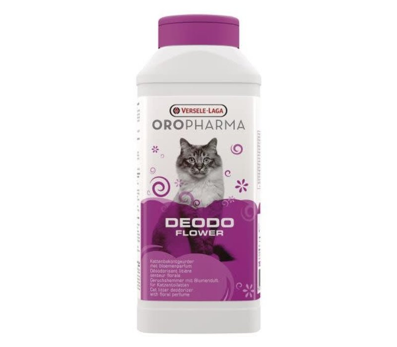 Versele-Laga Oropharma | Deodo geurverdrijver | 750 g | bloemengeur