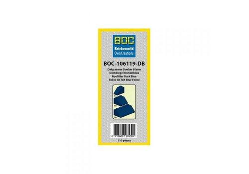 Donker blauwe Dakpannen – 110-delig