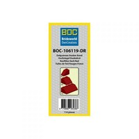 BOC – Dark Red Roof Tiles – 110 pieces – BOC 106 119 DR