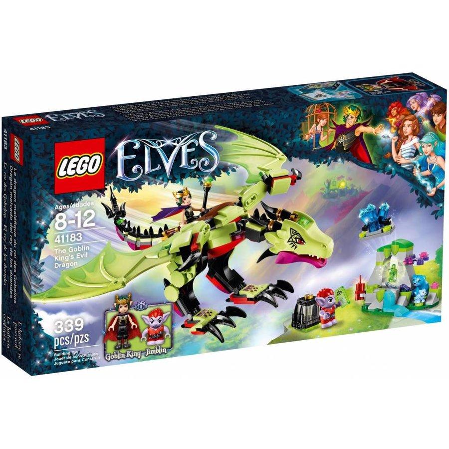 LEGO- Elves - De Wrede Draak van de Goblin Koning - 41183