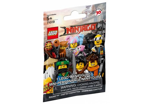 Minifigures The LEGO® NINJAGO® Movie™