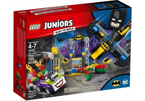Joker Batcave Aanval