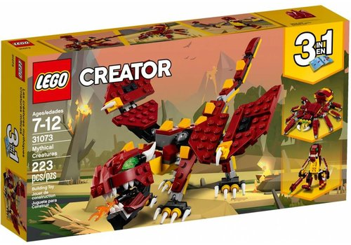 Mythical Creatures 3-in-1