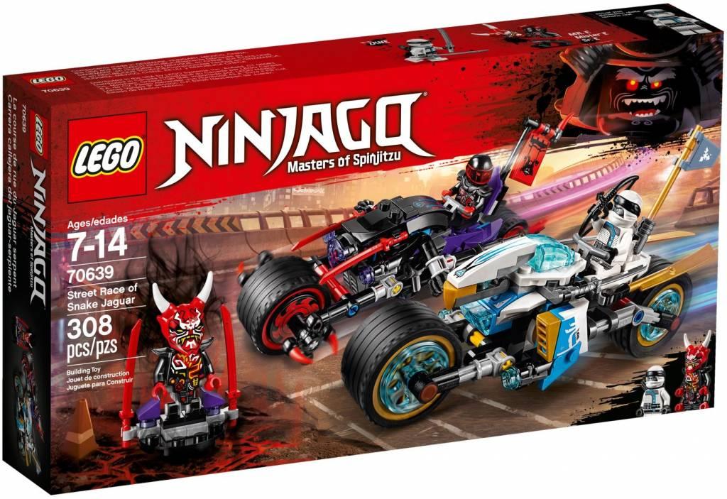 Lego Street Race Ninjago Of Jaguar 70639 Snake PXuOZki