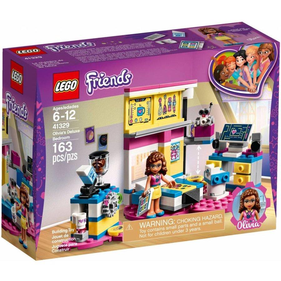 Lego Friends Olivias Deluxe Bedroom 41329 Cwjoost 100 Lego