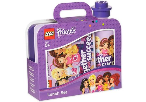Lunch Box Set, Friends Paars