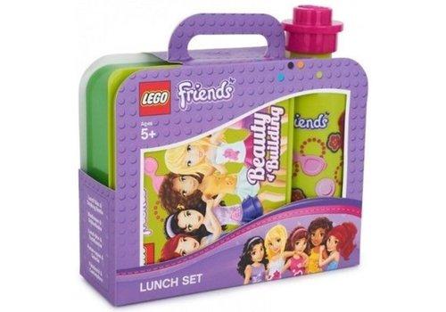 Lunch Box Set, Friends Green