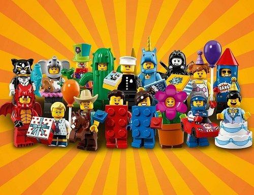 Een waar feest met de nieuwste LEGO Collectible Minifiguren! Serie 18, LEGO Minifiguren: Feestje.