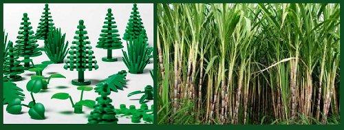 Groene LEGO® planten worden ''ECHT'' Groen !!!