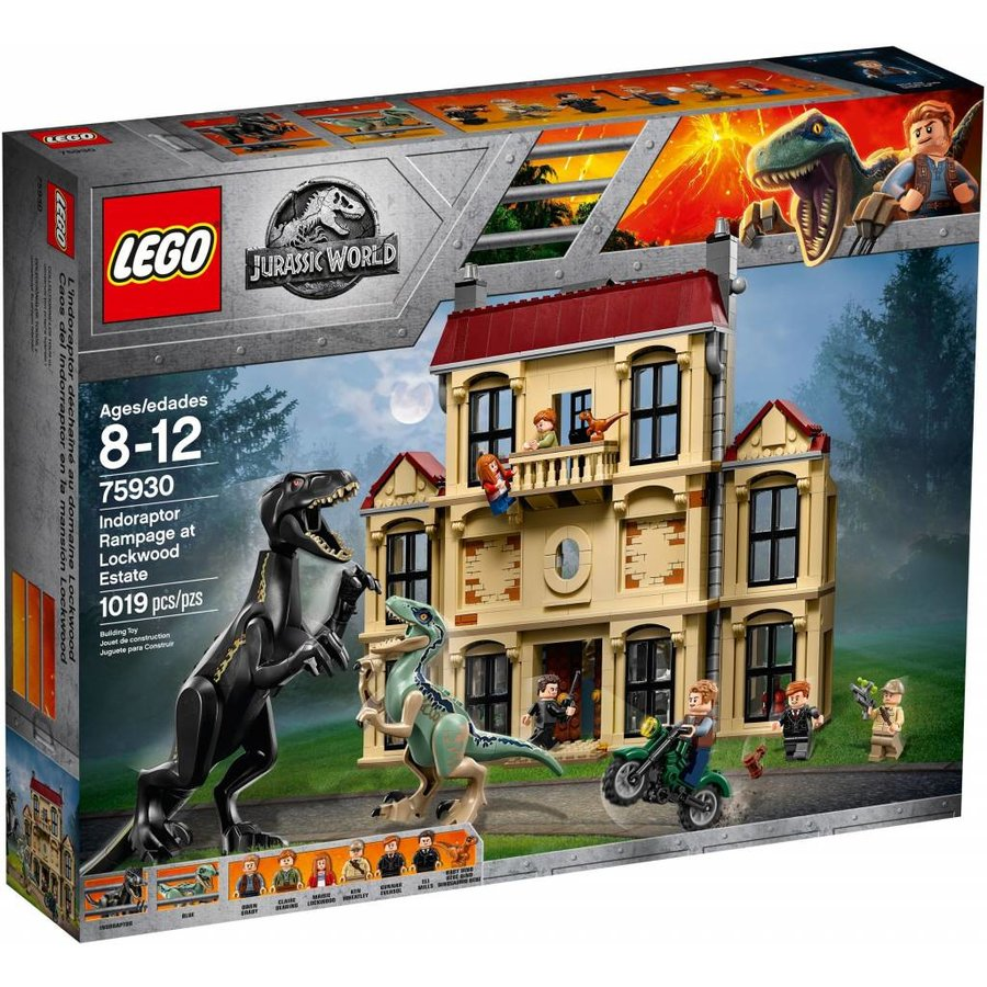 LEGO - Jurassic World - Indoraptor Rampage at Lockwood Estate  - 75930