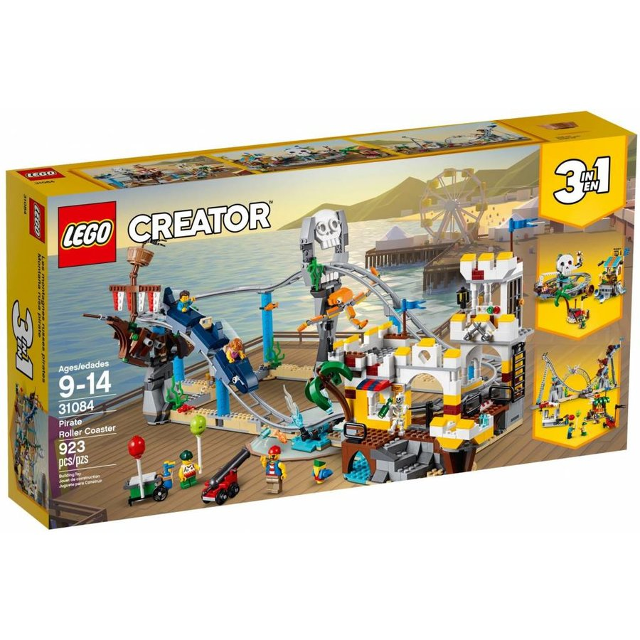 LEGO - Creator 3-in-1 - Piraten Achtbaan- 31084