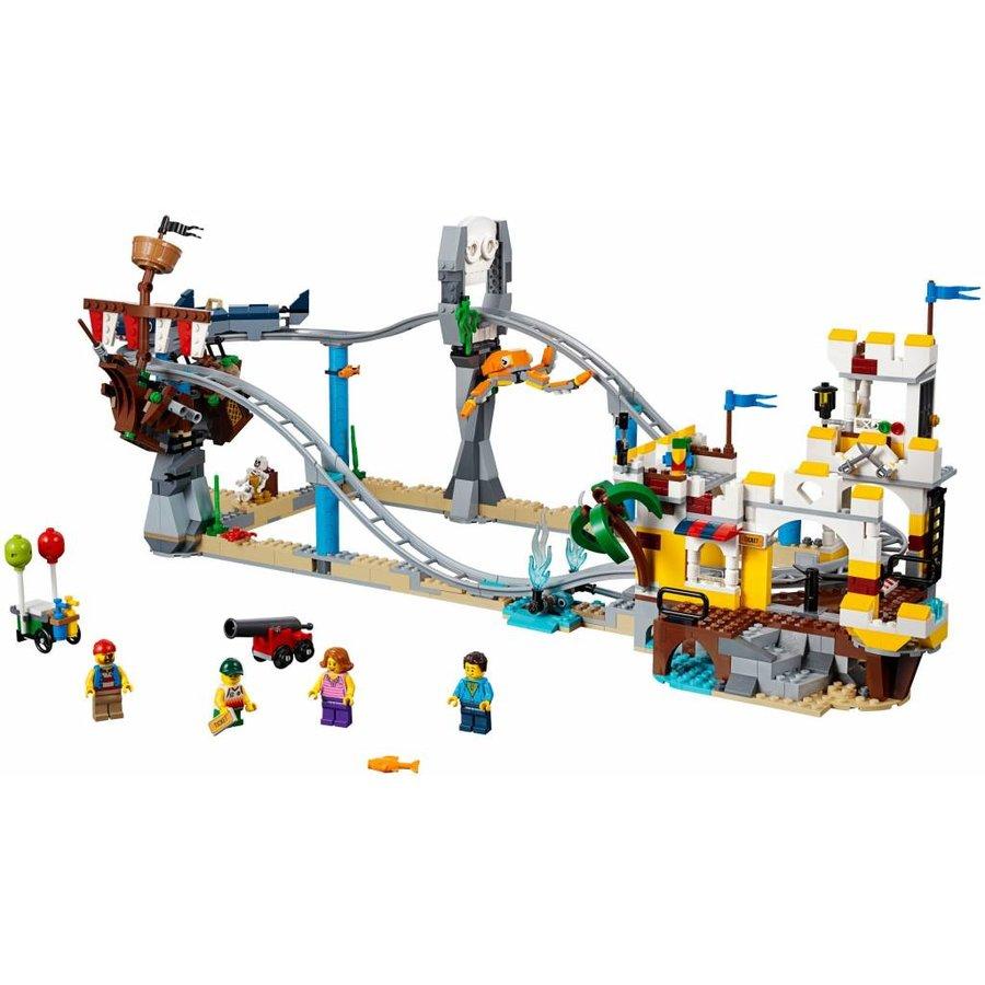 LEGO - Creator 3-in-1 - Pirates' Rollercoaster- 31084