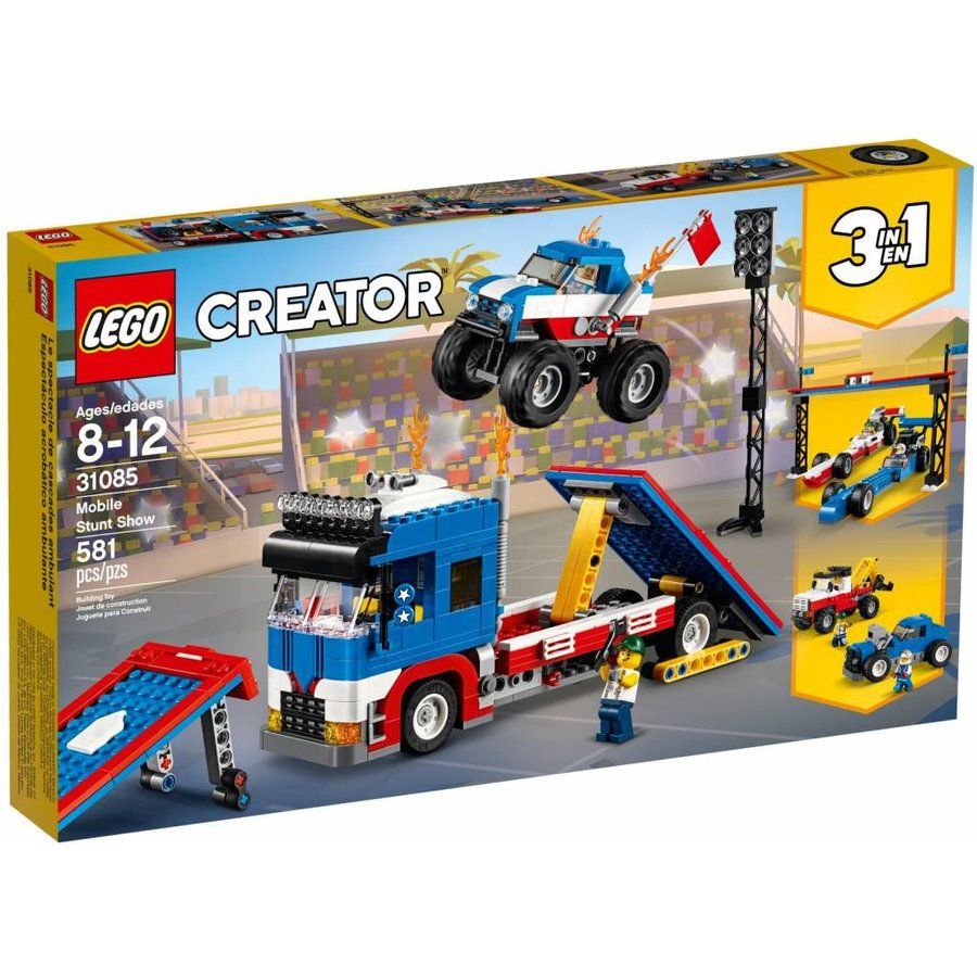 6a67759e631 LEGO - Creator 3-in-1 - Mobile Stunt Show - 31085 - CWJoost 100% LEGO
